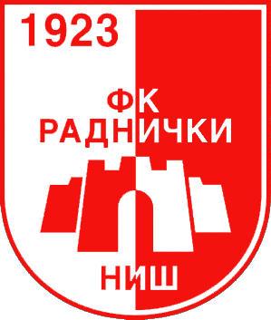 Escudo de FK RADNICKI NIS (SERBIA)