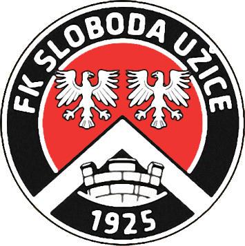 Escudo de FK SLOBODA UZICE (SERBIA)