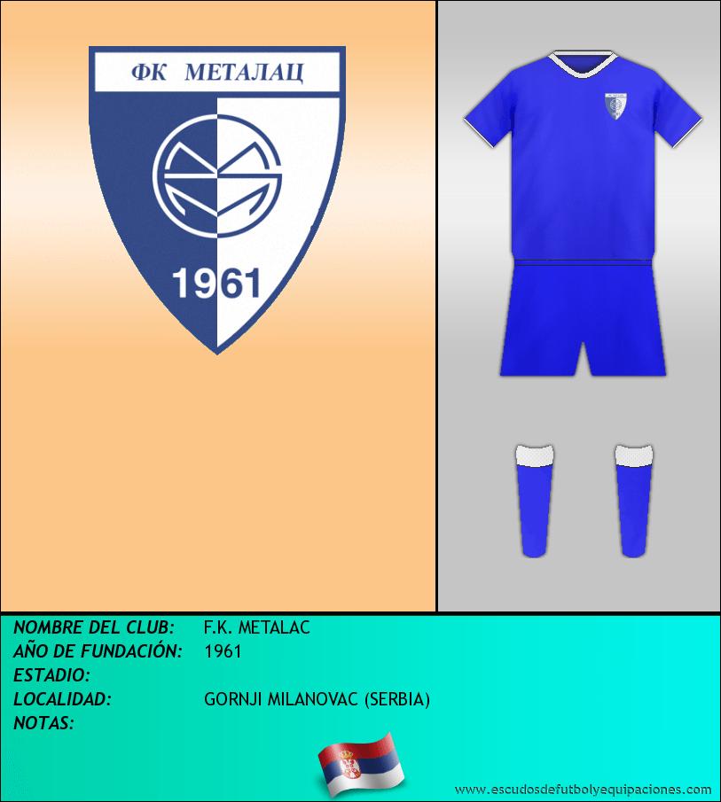 Escudo de F.K. METALAC