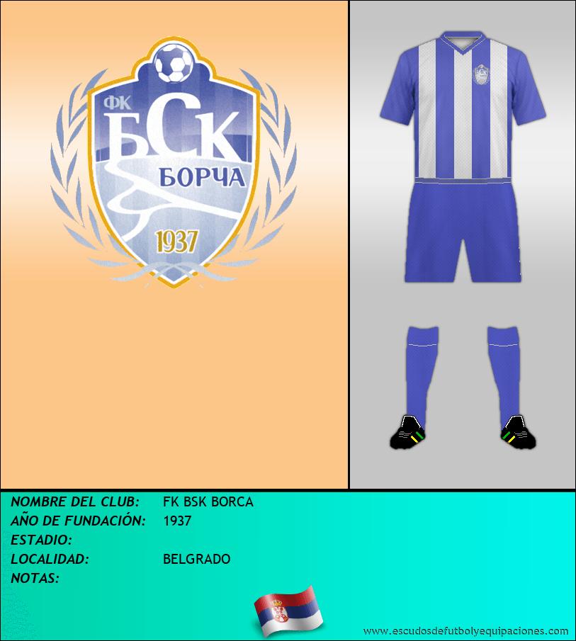 Escudo de FK BSK BORCA