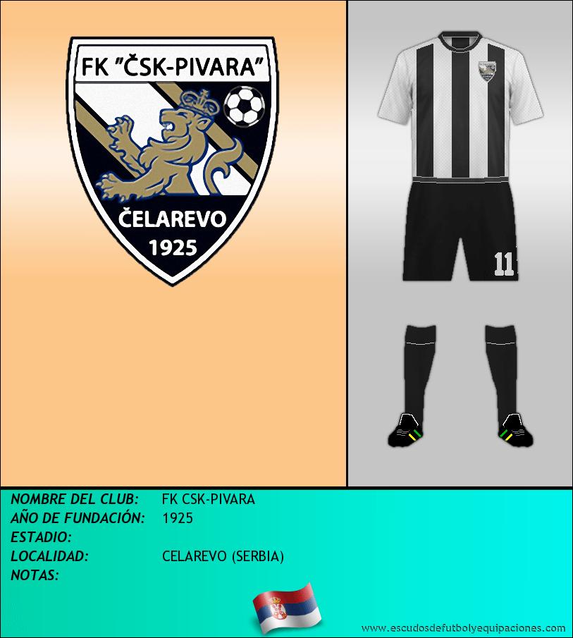 Escudo de FK CSK-PIVARA