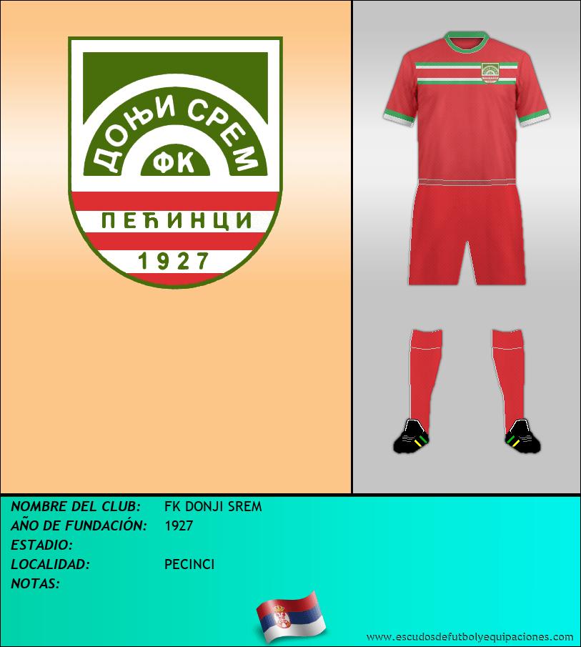 Escudo de FK DONJI SREM