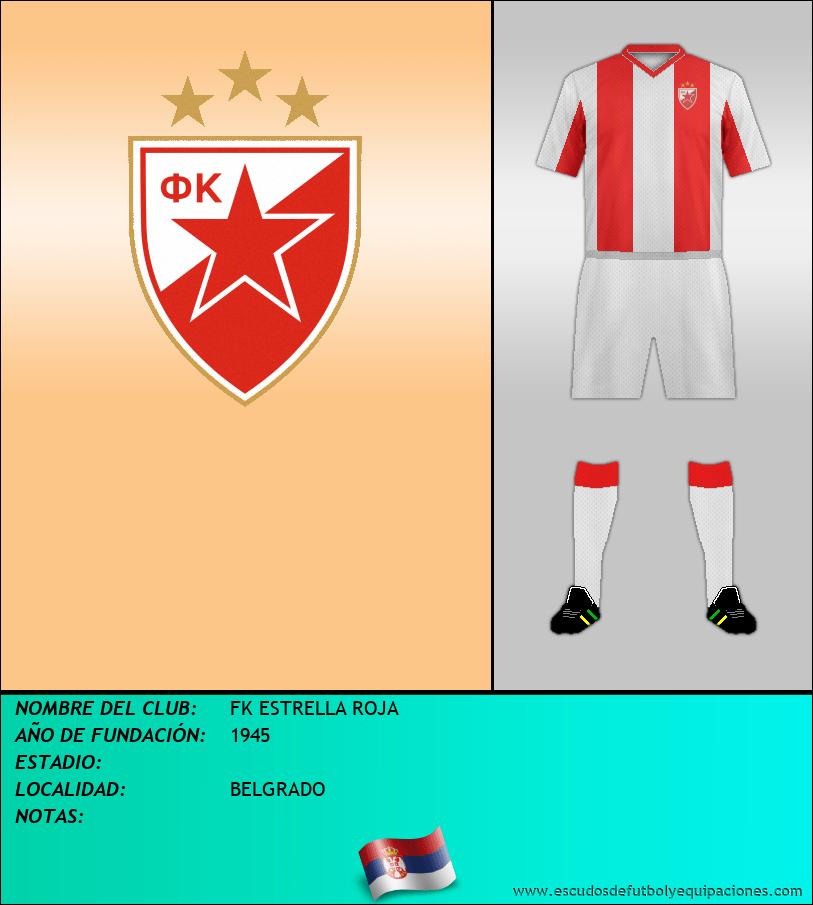 Escudo de FK ESTRELLA ROJA