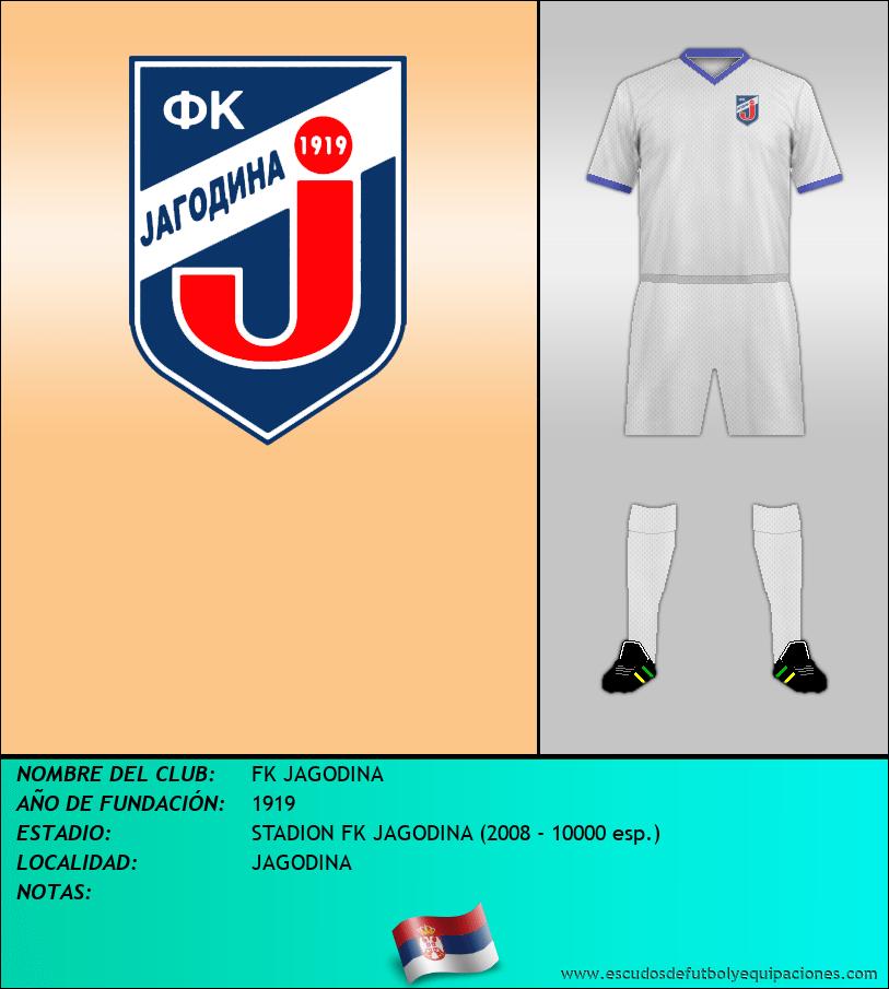 Escudo de FK JAGODINA