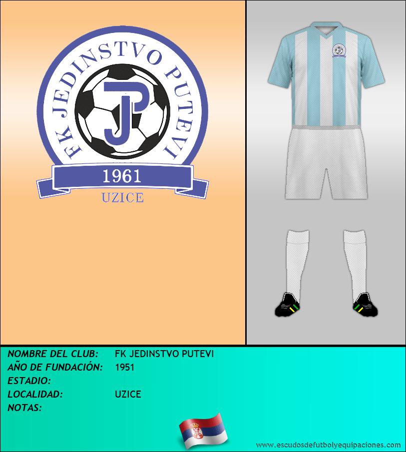 Escudo de FK JEDINSTVO PUTEVI
