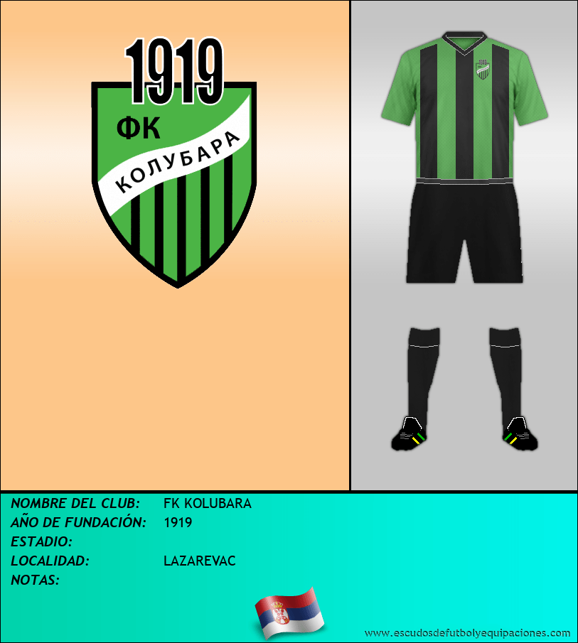 Escudo de FK KOLUBARA