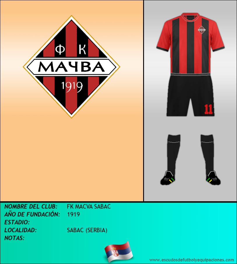 Escudo de FK MACVA SABAC