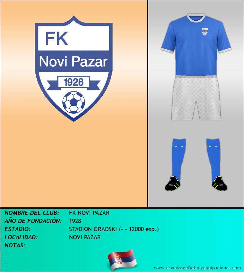 Escudo de FK NOVI PAZAR