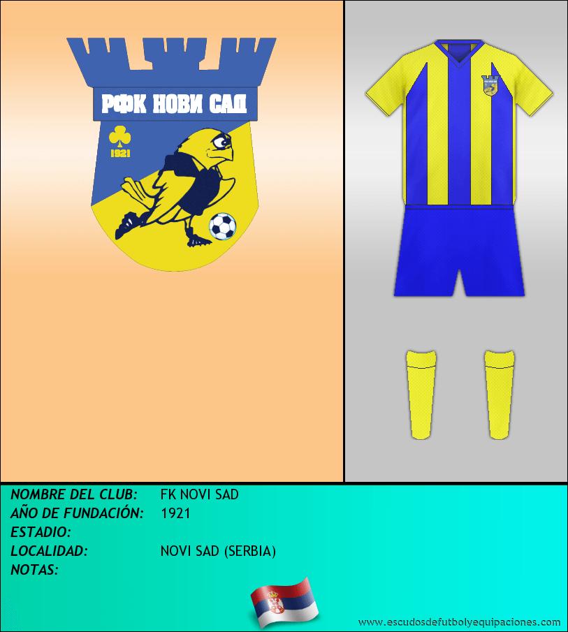 Escudo de FK NOVI SAD