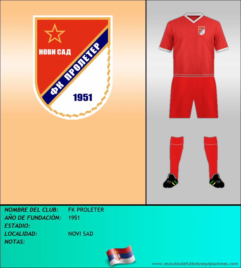 Escudo de FK PROLETER