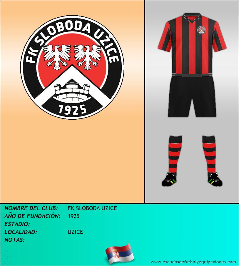 Escudo de FK SLOBODA UZICE