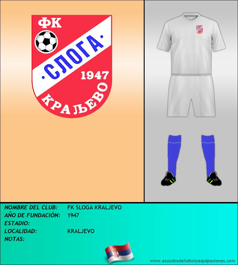 Escudo de FK SLOGA KRALJEVO