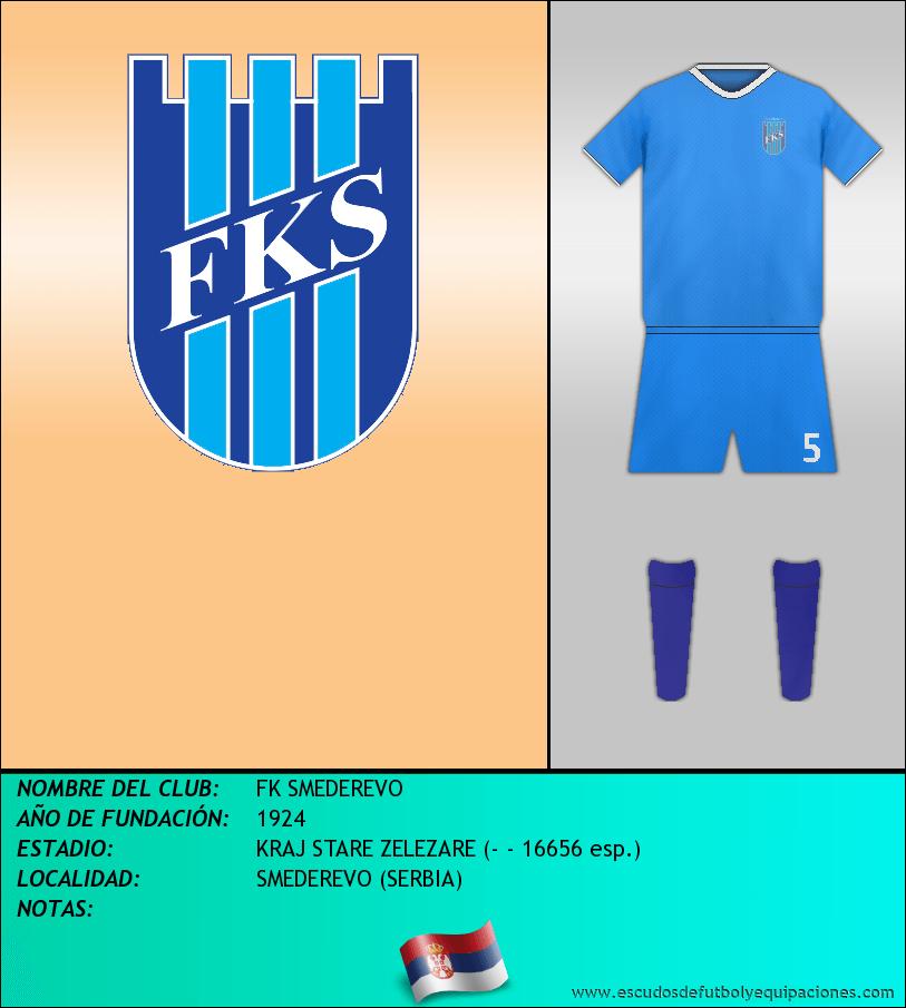 Escudo de FK SMEDEREVO