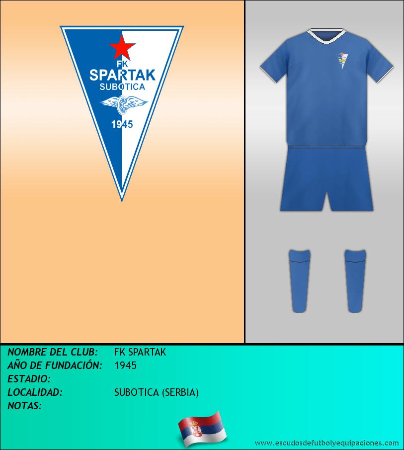 Escudo de FK SPARTAK