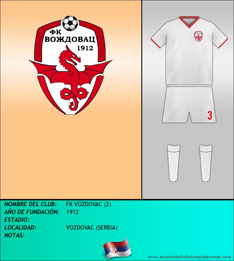 Escudo de FK VOZDOVAC (2)