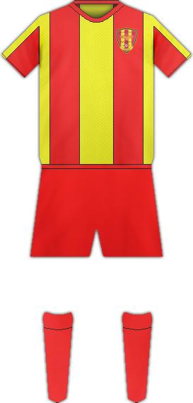 Equipación SYRIANSKA FC