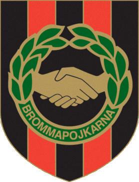 Escudo de IF BROMMAPOJKARNA (SUECIA)