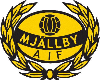 Escudo de MJÄLLBY AIF (SUECIA)