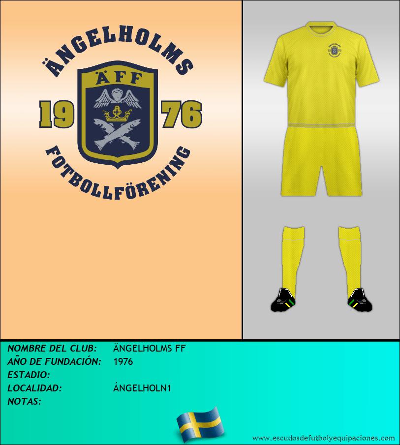 Escudo de ÄNGELHOLMS FF