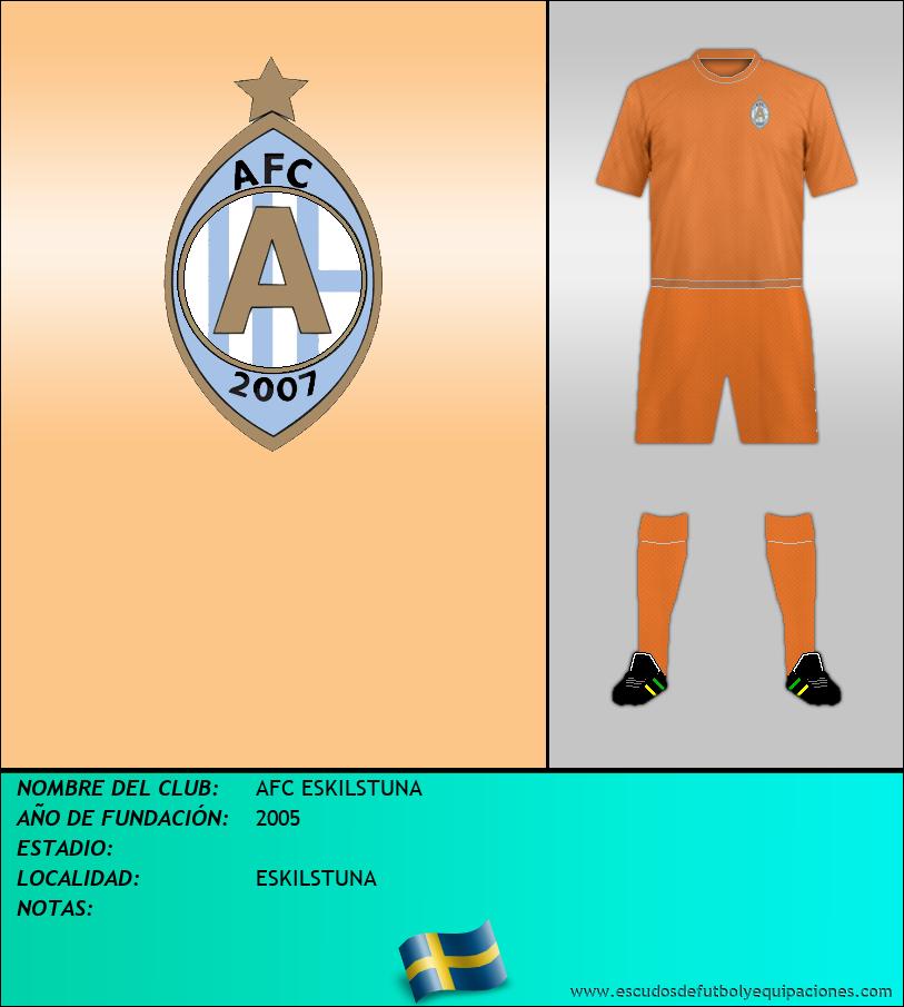 Escudo de AFC ESKILSTUNA