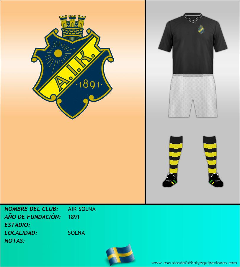 Escudo de AIK SOLNA
