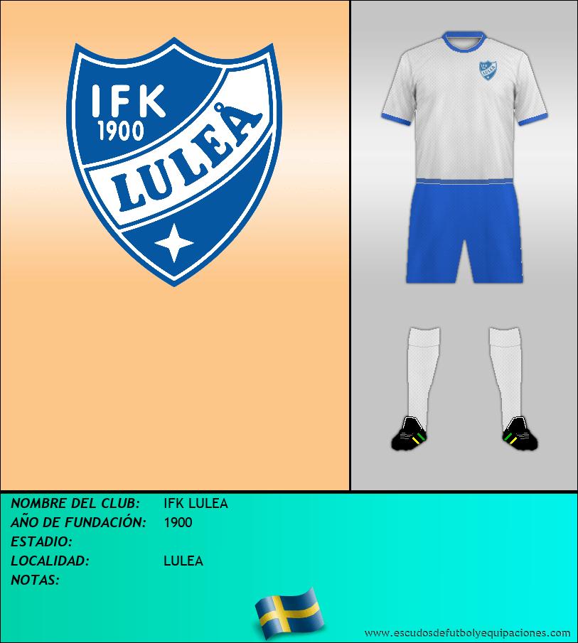 Escudo de IFK LULEA
