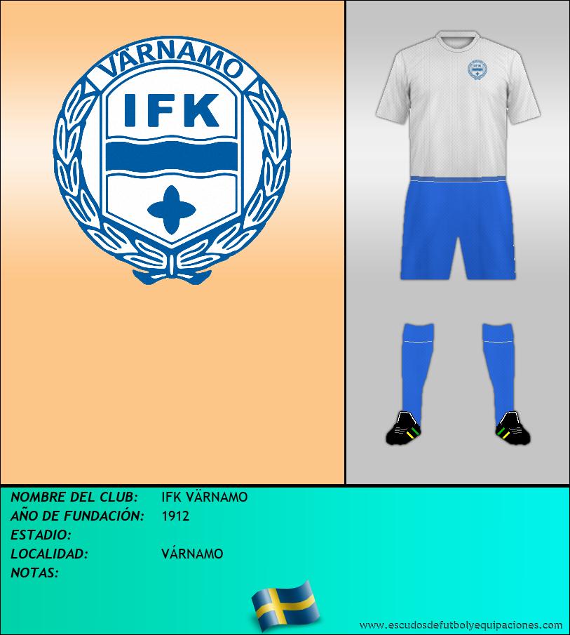 Escudo de IFK VÄRNAMO