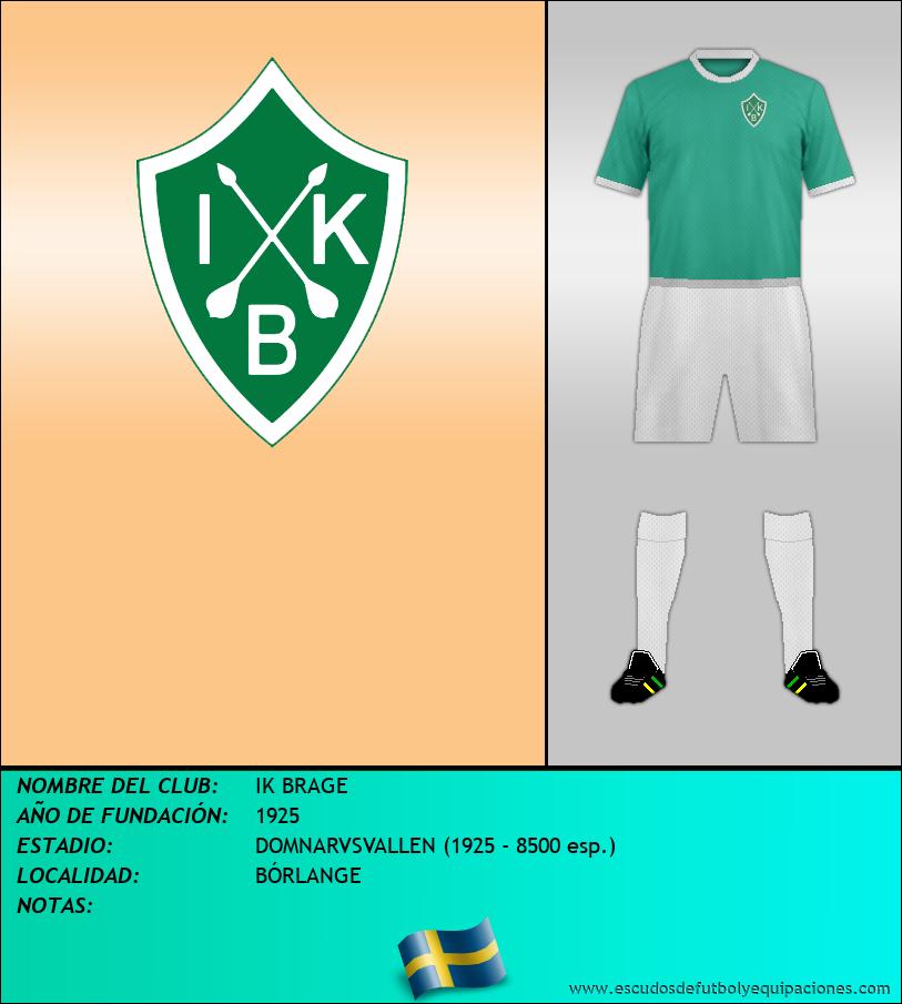 Escudo de IK BRAGE