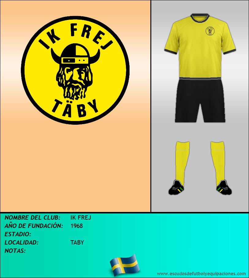 Escudo de IK FREJ