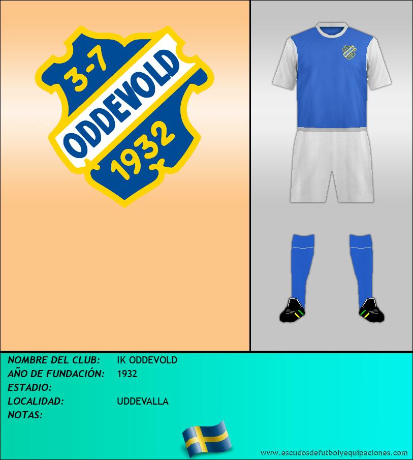Escudo de IK ODDEVOLD