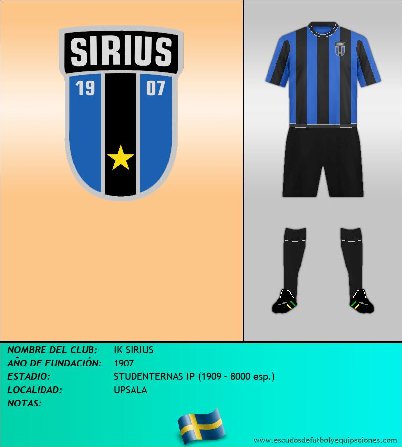 Escudo de IK SIRIUS