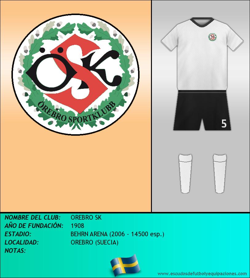 Escudo de OREBRO SK