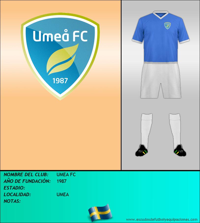 Escudo de UMEA FC