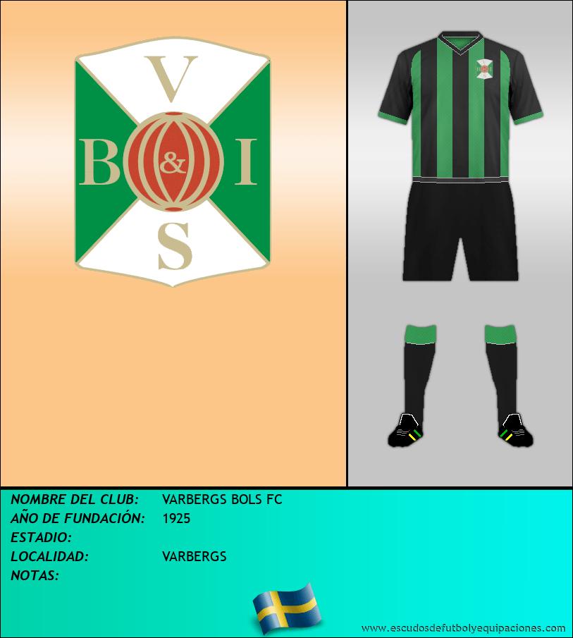 Escudo de VARBERGS BOLS FC