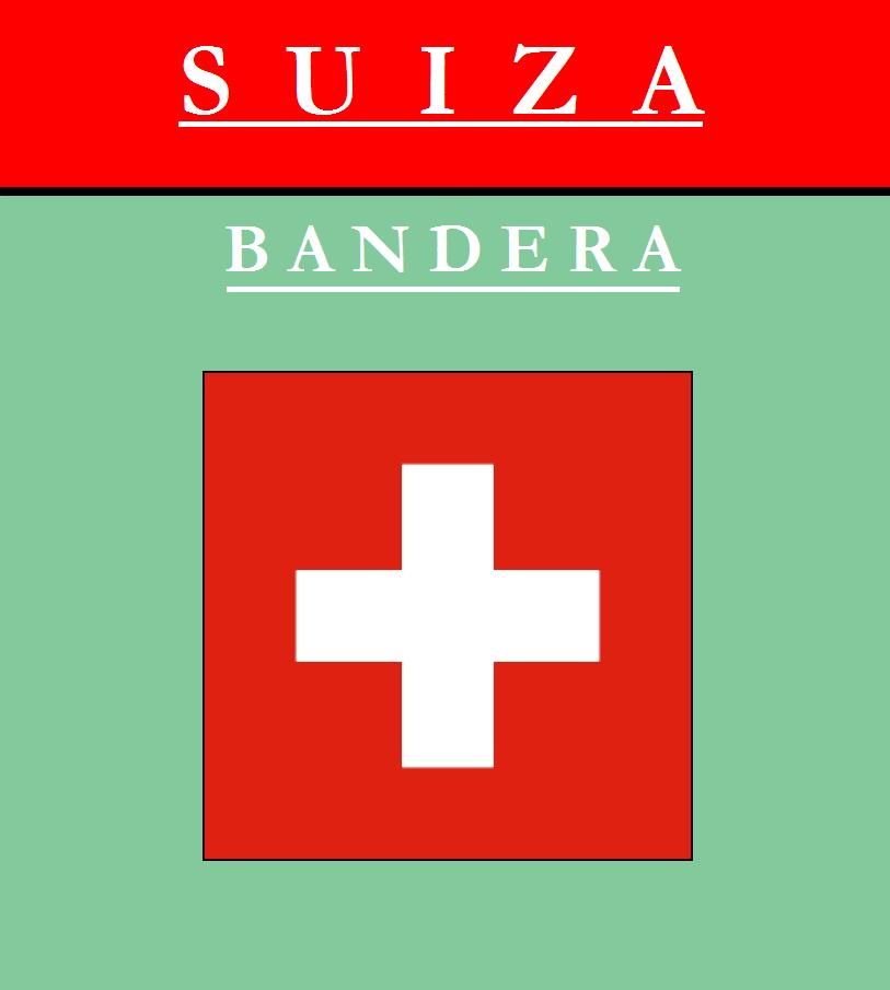 Escudo de BANDERA DE SUIZA