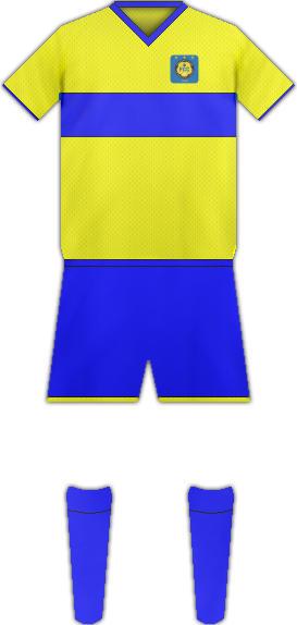 Equipación FC LA CHAUX-DE-FOMDS