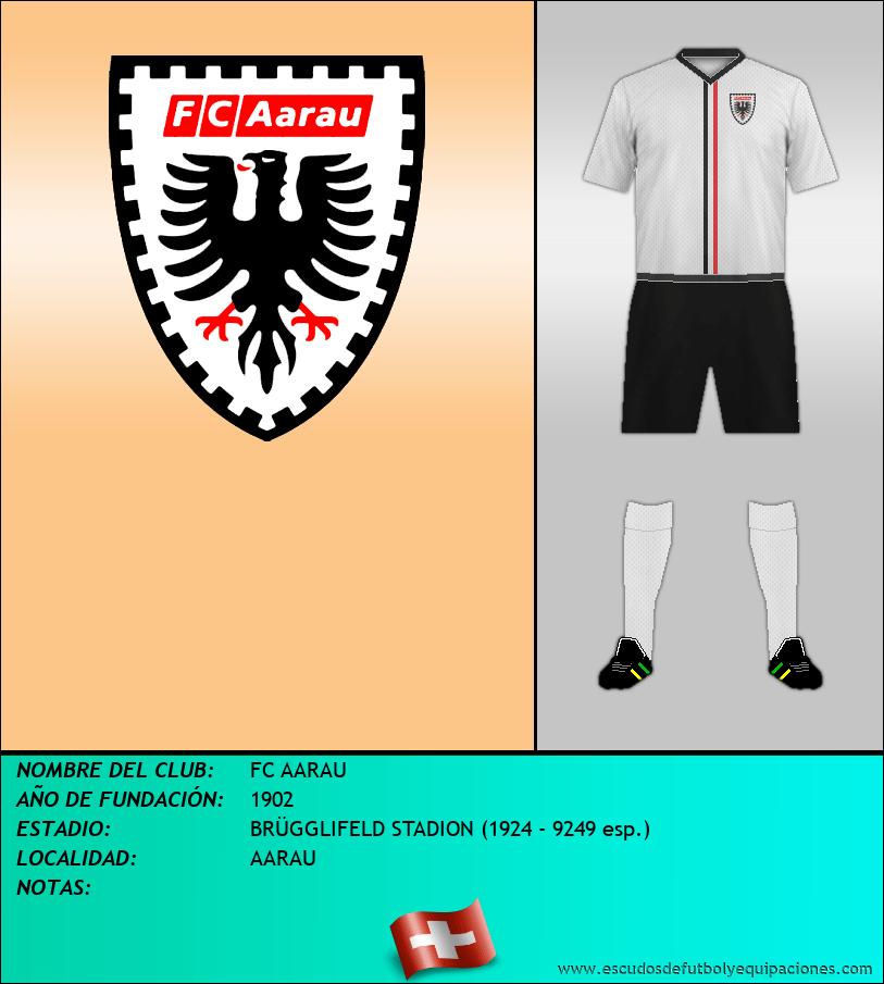 Escudo de FC AARAU