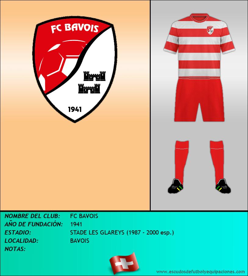 Escudo de FC BAVOIS
