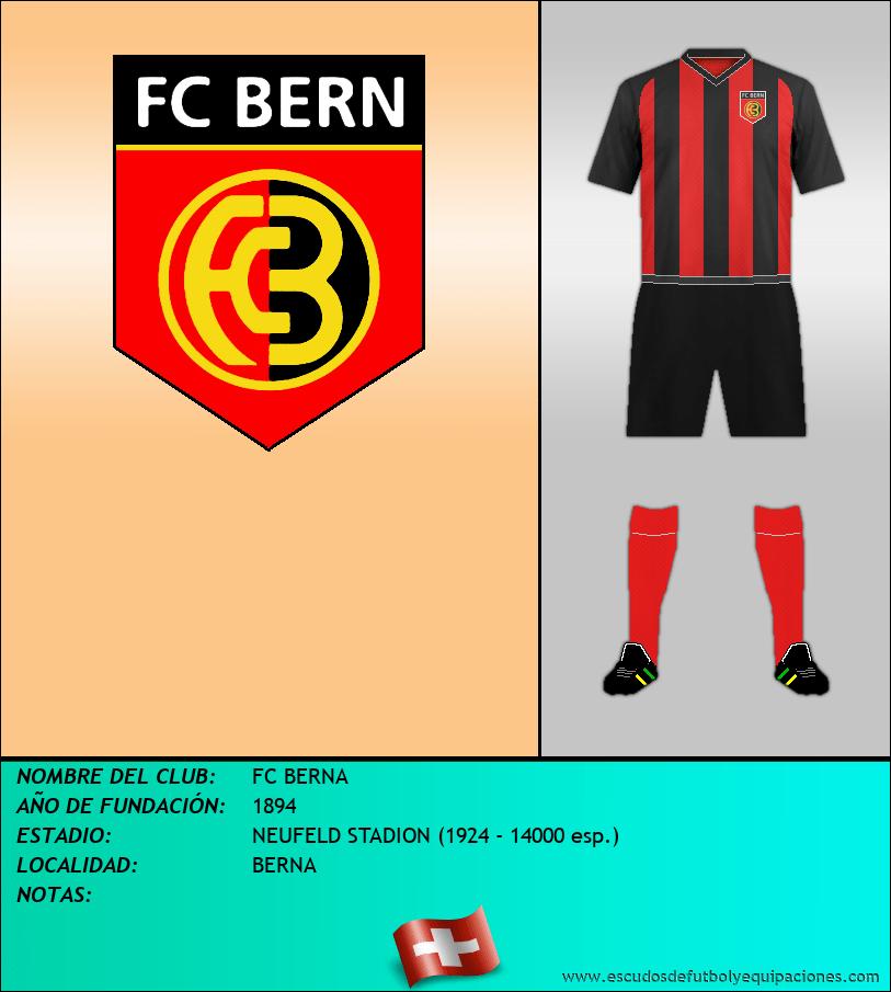 Escudo de FC BERNA