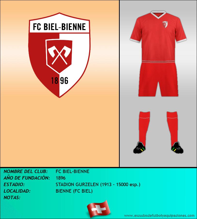 Escudo de FC BIEL-BIENNE