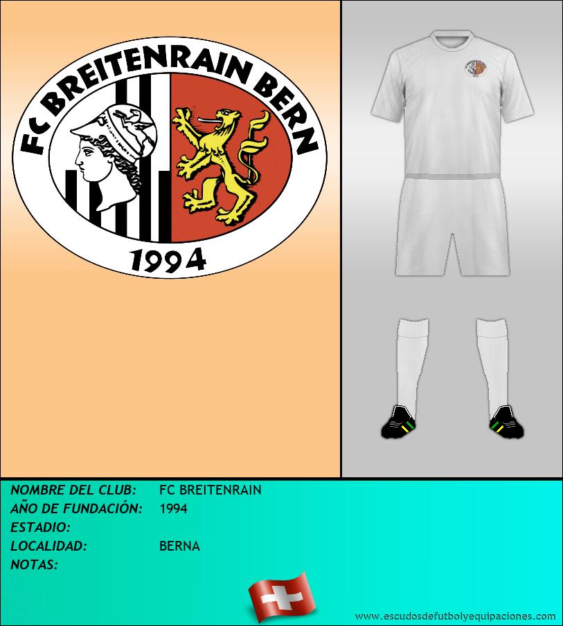 Escudo de FC BREITENRAIN