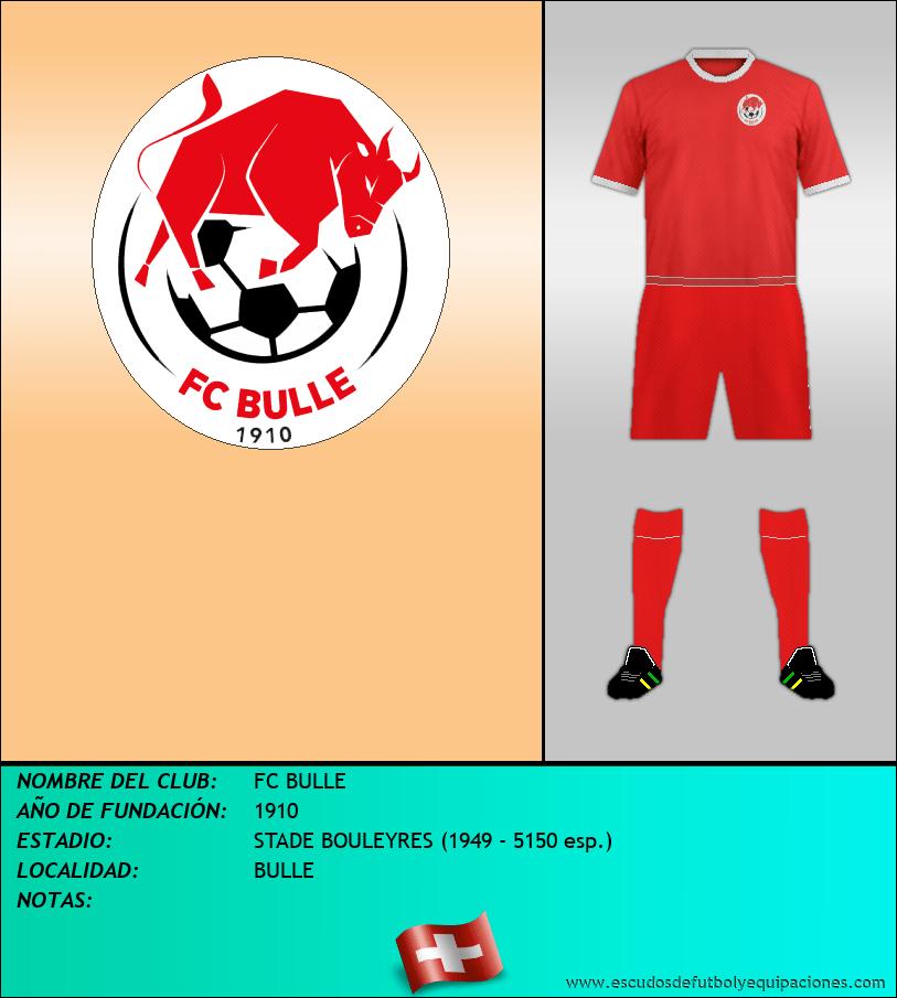 Escudo de FC BULLE