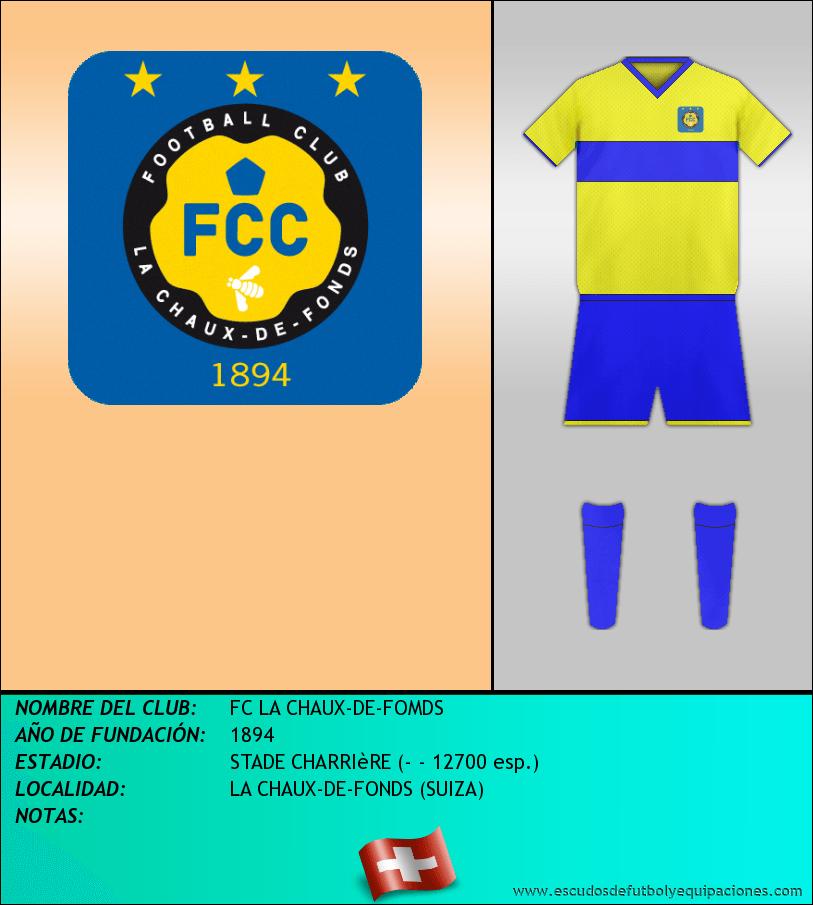 Escudo de FC LA CHAUX-DE-FOMDS