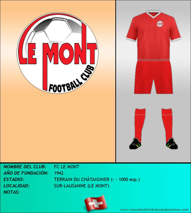 Escudo de FC LE MONT