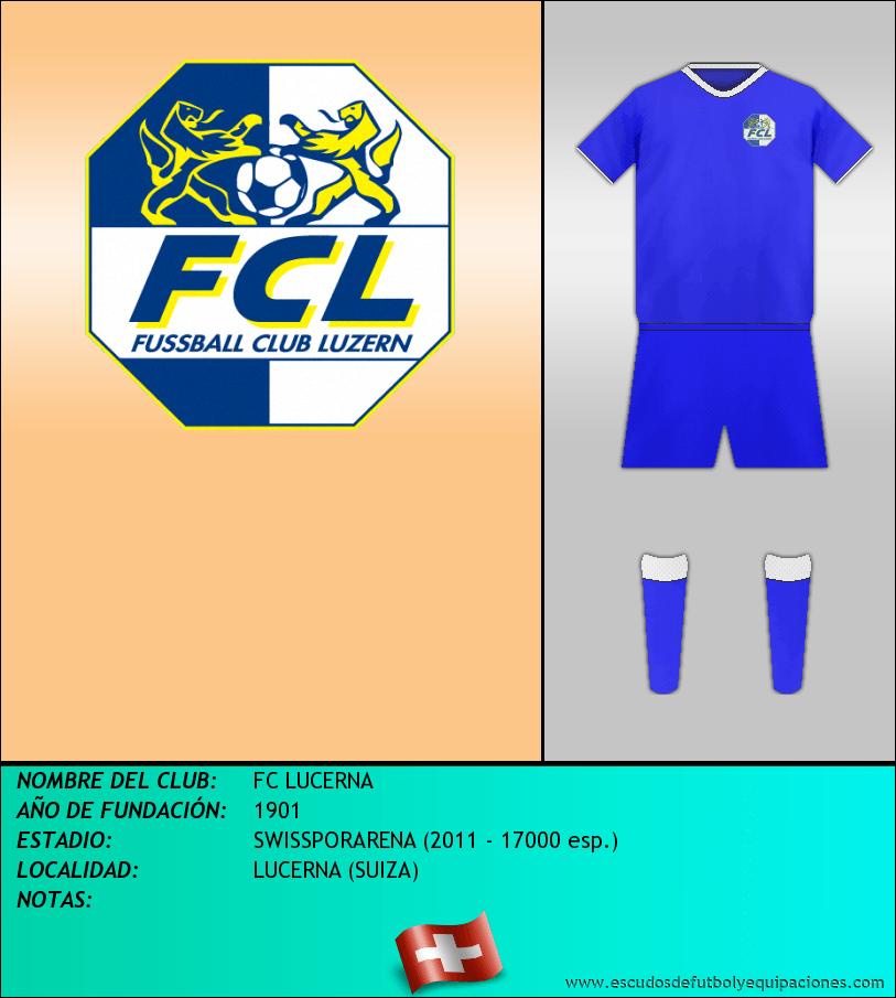 Escudo de FC LUCERNA