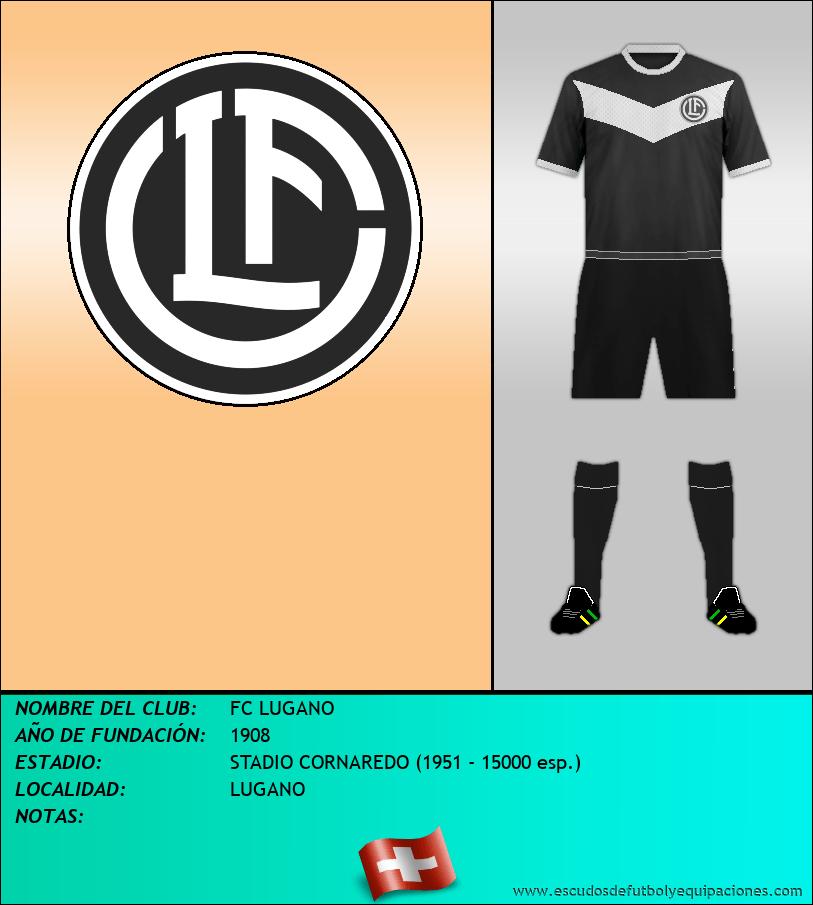 Escudo de FC LUGANO