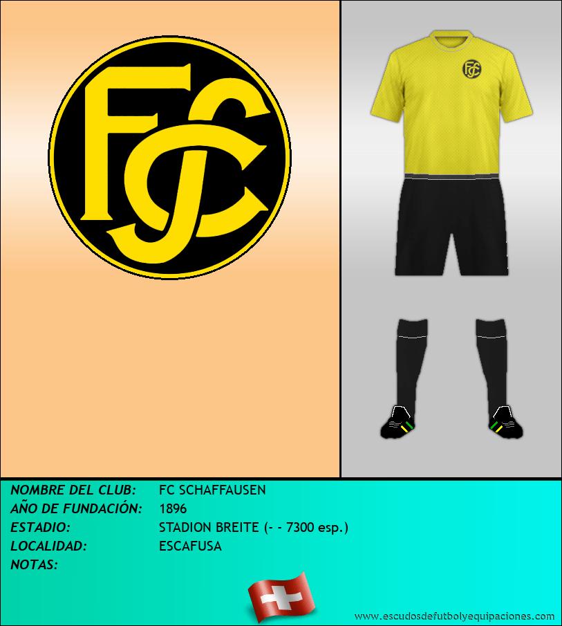 Escudo de FC SCHAFFAUSEN