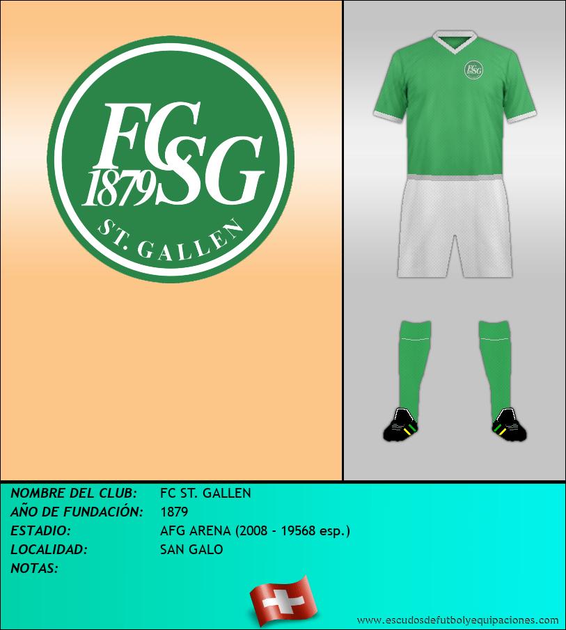 Escudo de FC ST. GALLEN