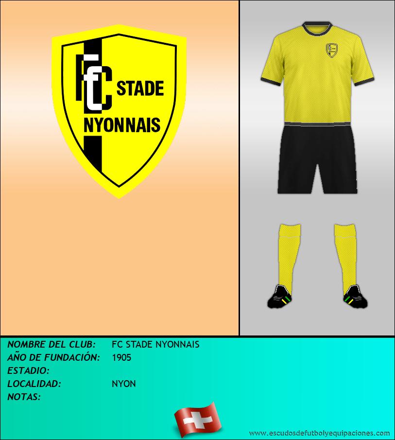 Escudo de FC STADE NYONNAIS