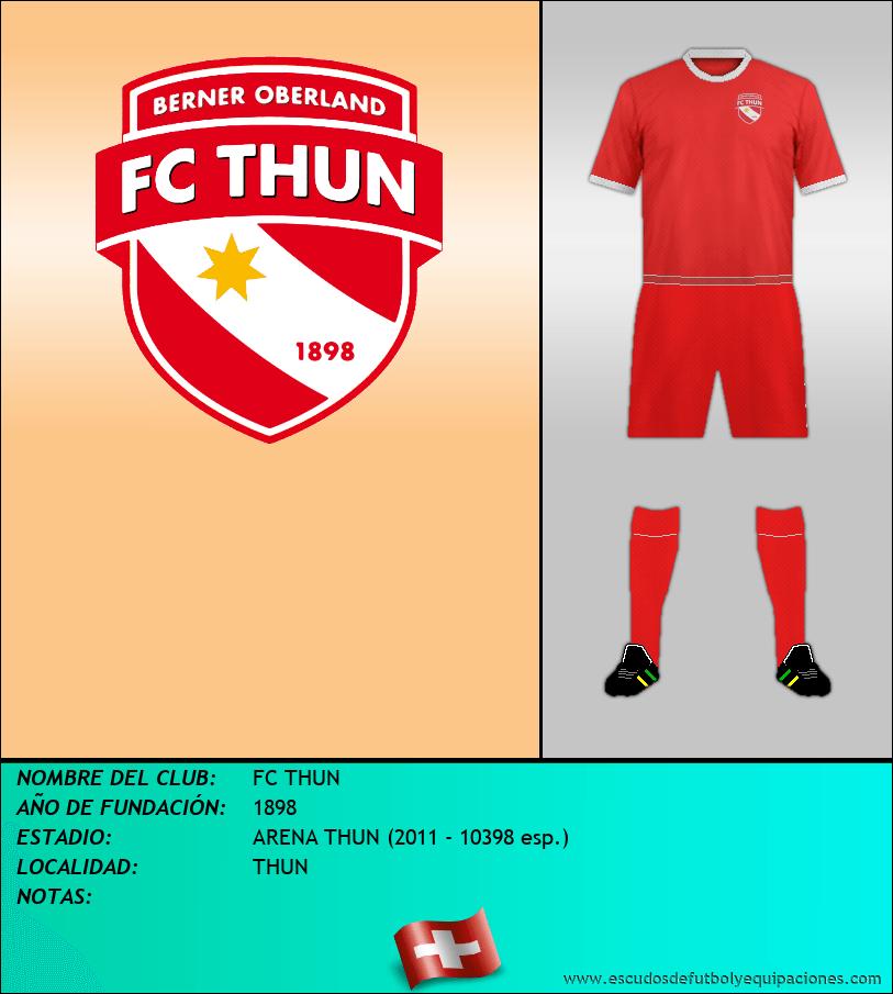 Escudo de FC THUN